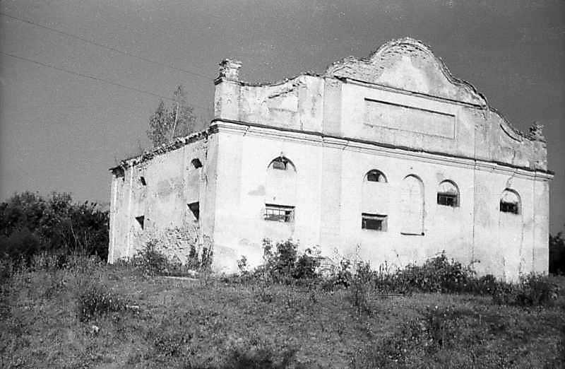 Невідома мурована споруда