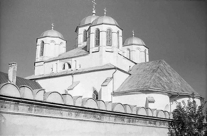 1985 р. Східний мур і собор. Вигляд з…