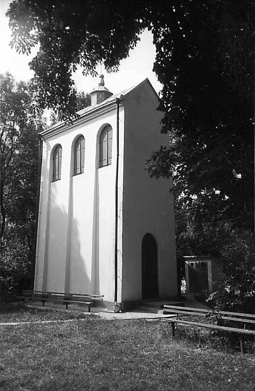 1985 р. Дзвіниця. Вигляд з північного сходу