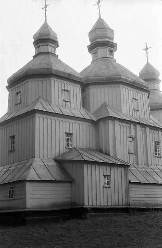 1985 р. Вівтар і нава. Вигляд з північного сходу