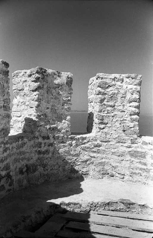 1986 р. Верхня площадка з видом на лиман