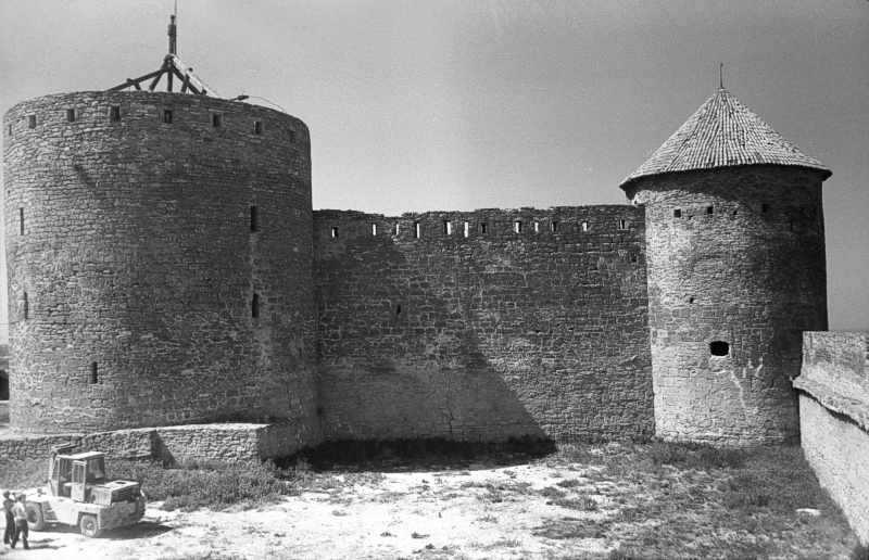 1986 р. Загальний вигляд зі сходу, з муру