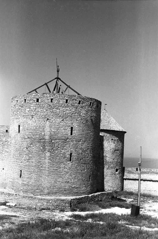 1986 р. Східні башти. Вигляд з півдня