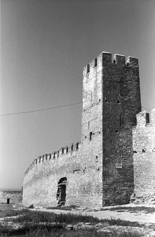 1986 р. Башта 23 і брама 22. Загальний вигляд з південного сходу