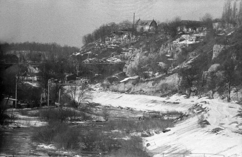 1987 р. Вид на річку Кам'янку і …