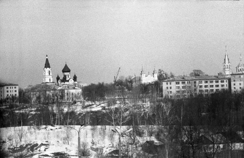 1987 р. Панорама Замкової гори