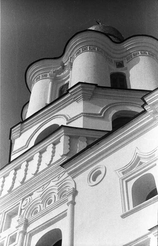 1987 р. Верх дзвіниці. Вигляд з…
