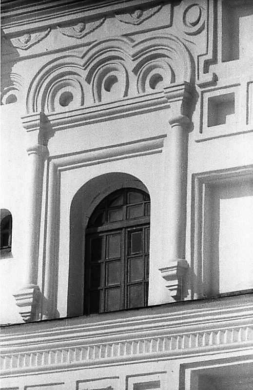 1987 р. Вікно 2-го ярусу дзвіниці.…