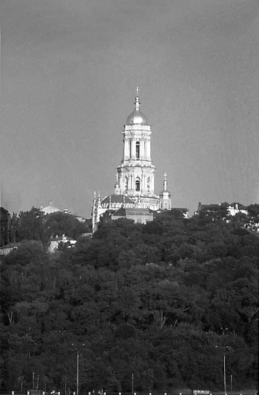 1987 р. Верхня лавра. Вигляд зі сходу