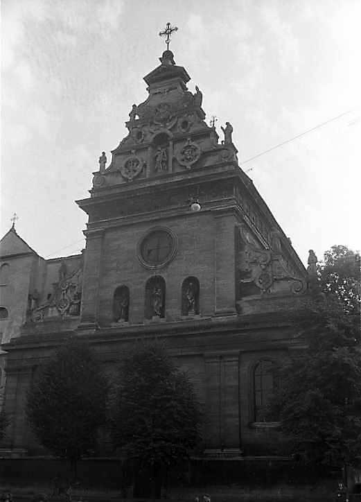 1987 р. Головний фасад. Вигляд з…