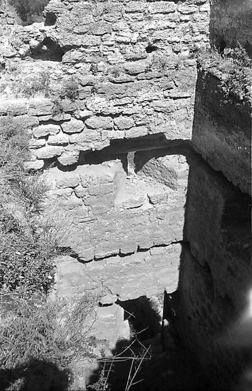 1987 р. Інтер'єр нижньої башти. Вигляд з півдня