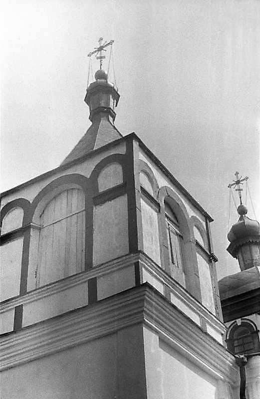 1988 р. Верх дзвіниці. Вигляд з…