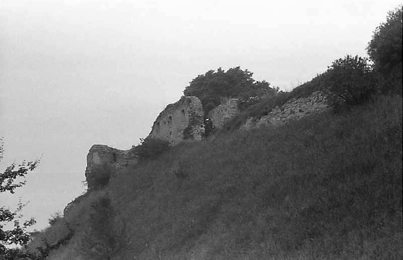 1988 р. Башта і чільний мур. Вигляд з південного сходу