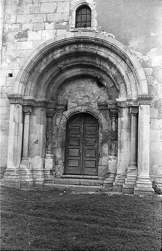 1988 р. Західний портал
