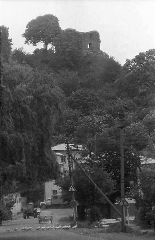 1988 р. Замкова гора з баштою. Вигляд…