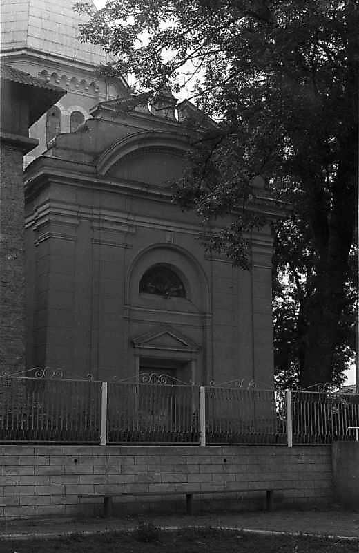 1988 р. Головний фасад. Вигляд з півночі