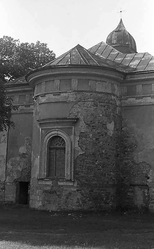 1988 р. Вівтарний фасад. Вигляд з позиції С1