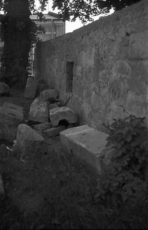 1988 р. Фрагмент східного боку…