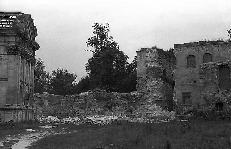 1988 р. Корпус 16 і башта 6. Вигляд з північного сходу