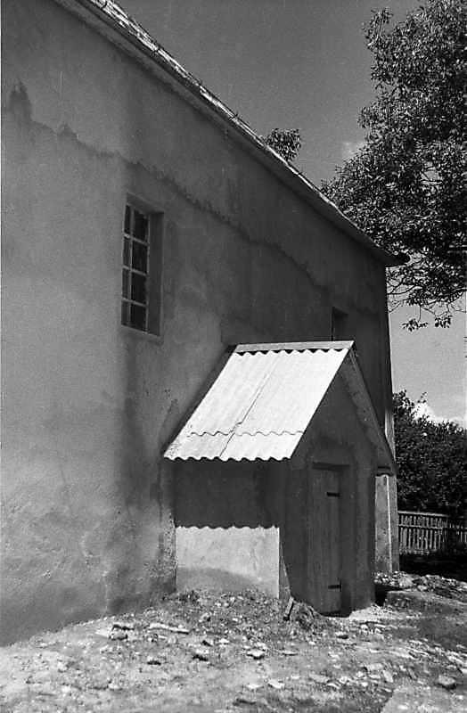1988 р. Східний фасад. Вигляд з південного сходу