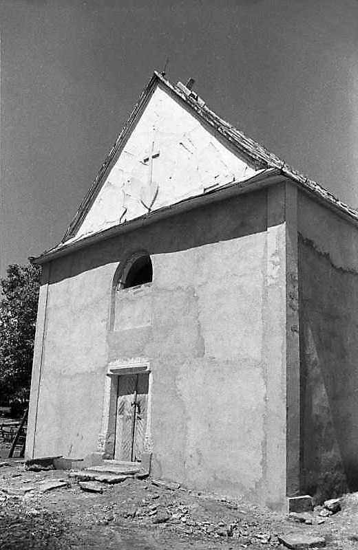 1988 р. Головний фасад. Вигляд з південного сходу