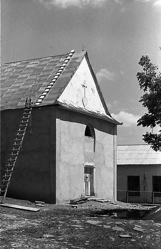 1988 р. Головний фасад. Вигляд з південного заходу