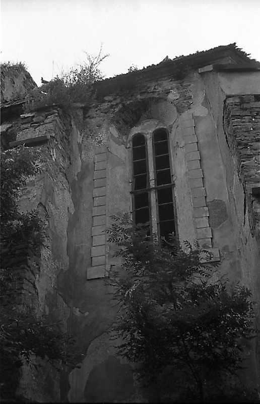 1988 р. Фрагмент бічного фасаду…