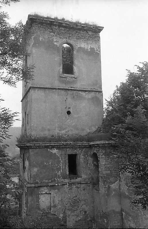 1988 р. Башта. Вигляд з позиції С1