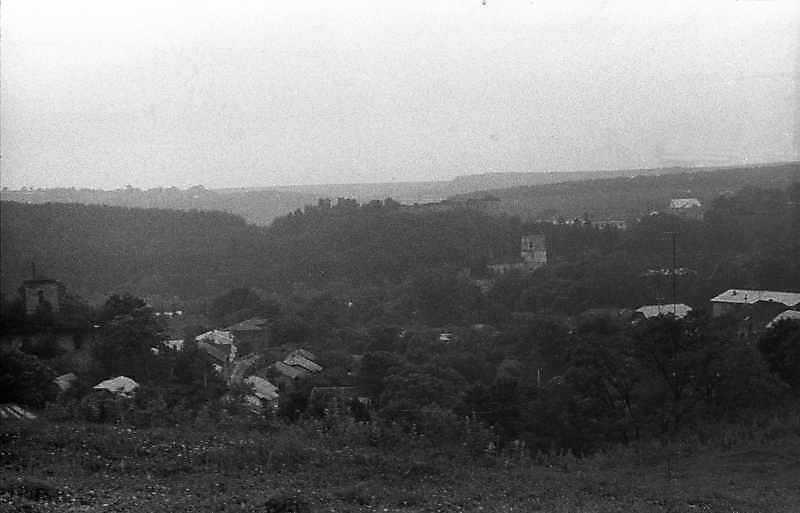 1988 р. Центр містечка з півночі