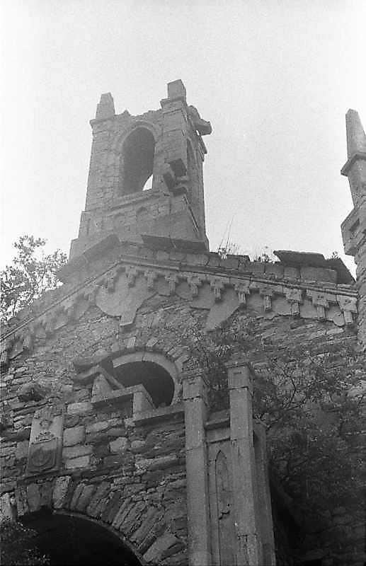 1988 р. Верхня частина головного фасаду. Вигляд з позиції С3