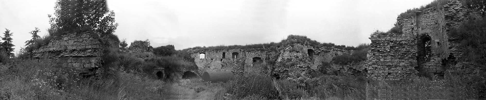 1988 р. Панорама внутрішнього двора 12