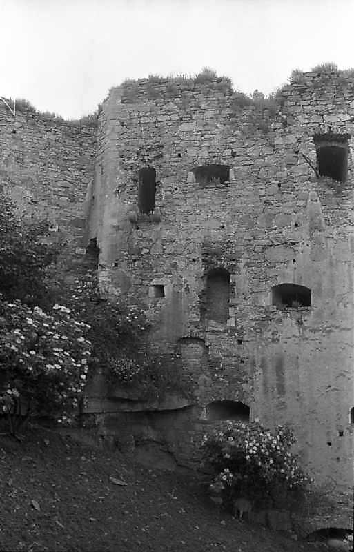 1988 р. Куртина 8 і башта 7. Вигляд з півночі