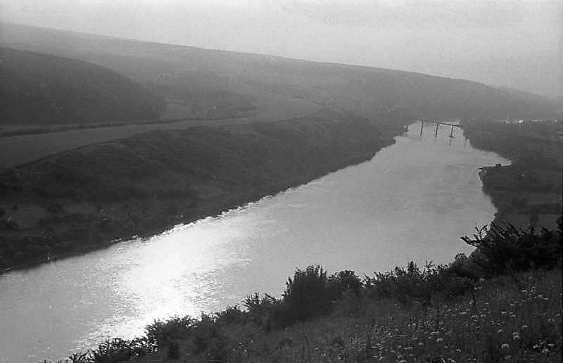 1988 р. Вид на Дністер і міст в…