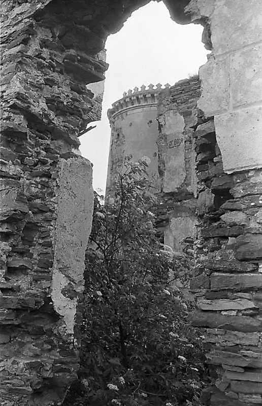 1988 р. Вид на південну башту крізь…