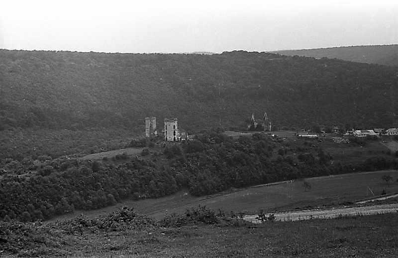 1988 р. Горб з палацом і костелом.…