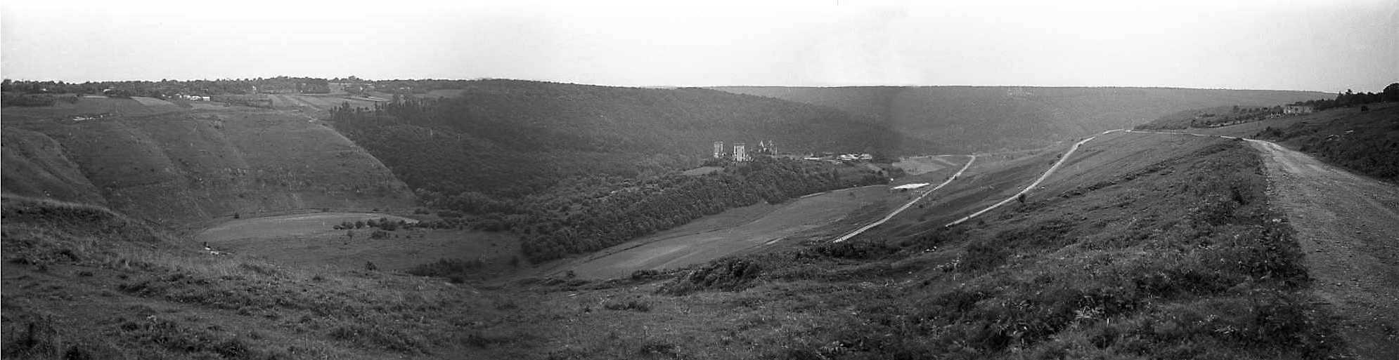1988 р. Панорама долини з північного сходу