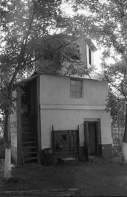 1988 р. Дзвіниця. Вигляд з північного заходу