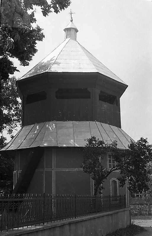 1988 р. Дзвіниця. Вигляд з позиції А1