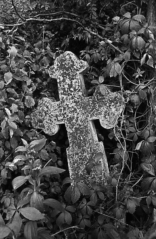 1988 р. Хрест біля церкви