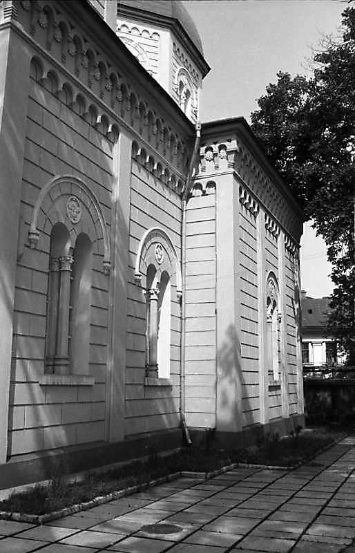 1988 р. Бічний фасад. Вигляд із заходу