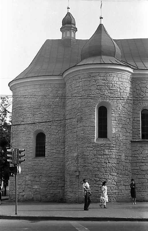 1988 р. Вівтар. Вигляд з півночі