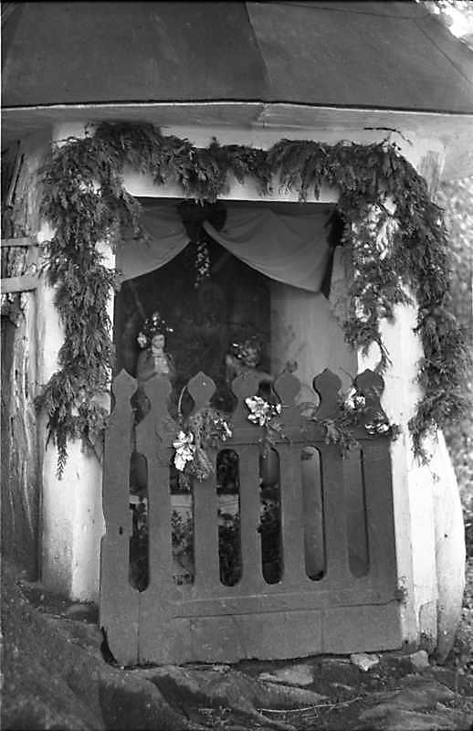 1988 р. Каплиця св.Онуфрія. Вхід