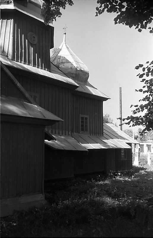 1988 р. Бічний фасад. Вигляд зі сходу