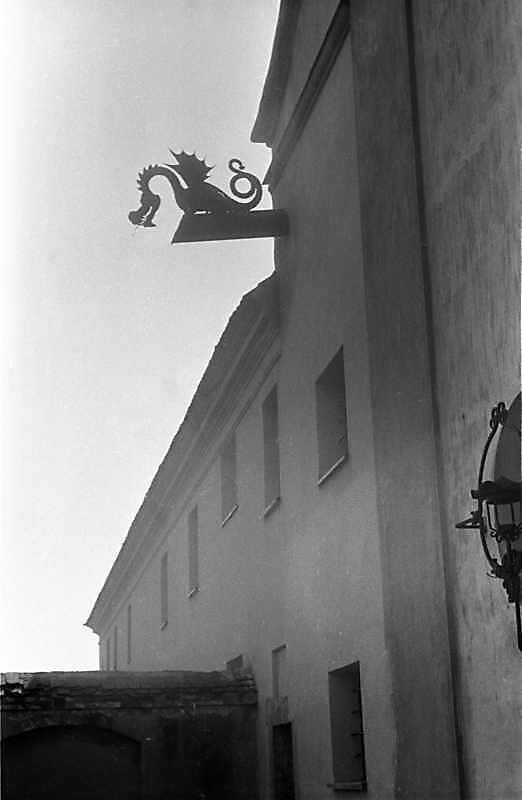 1988 р. Дракон на головному фасаді