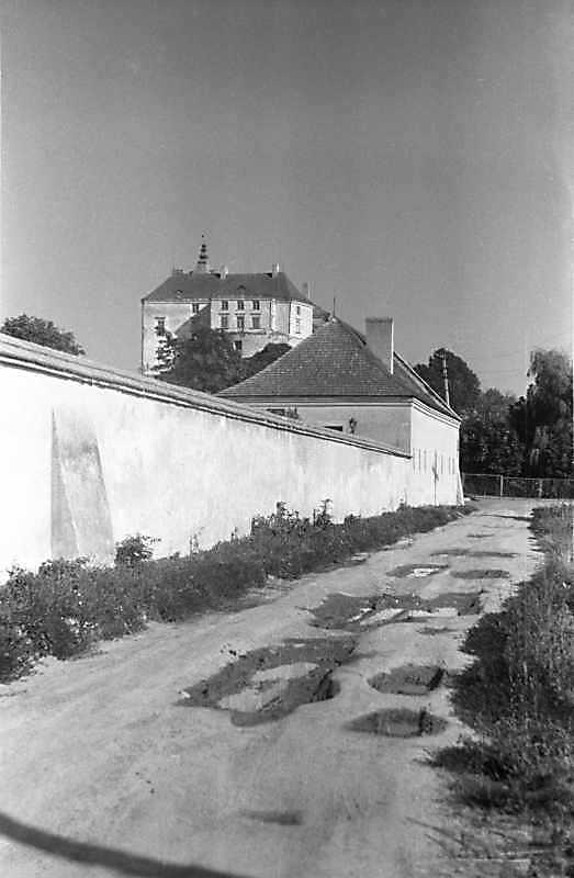 1988р. Фрагмент на тлі замку. Вигляд з…