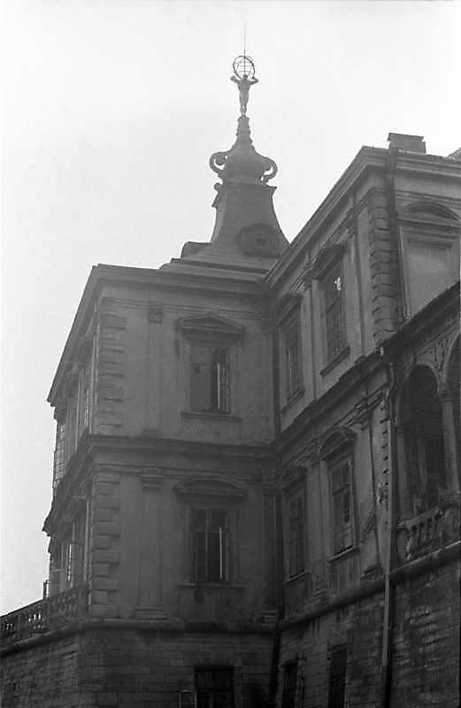 1988 р. Західна башта. Вигляд з півдня