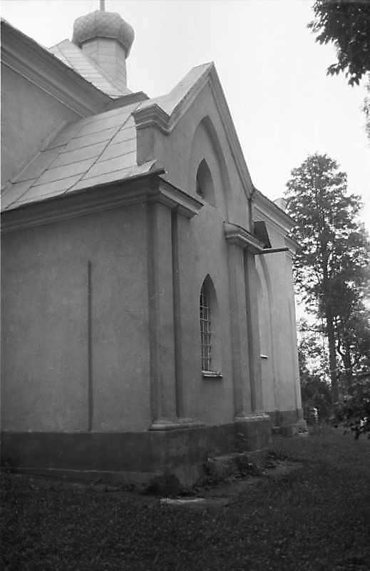 1988 р. Бічний фасад. Вигляд з позиції А1
