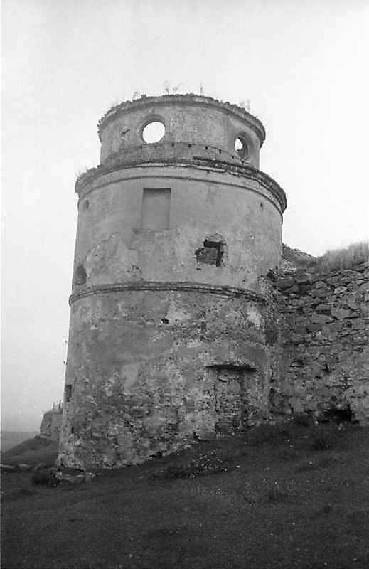 1988 р. Північно-західна башта (2). Вигляд з південного заходу