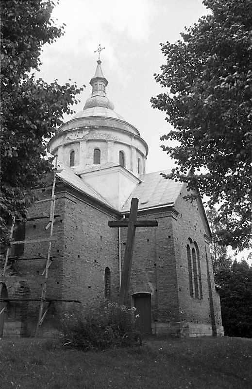 1988 р. Нова церква. Загальний вигляд…