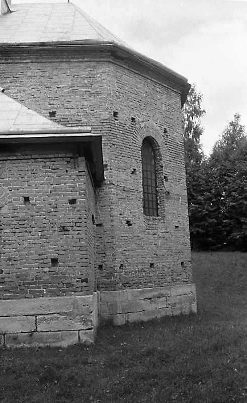1988 р. Нова церква. Вівтар. Вигляд з…